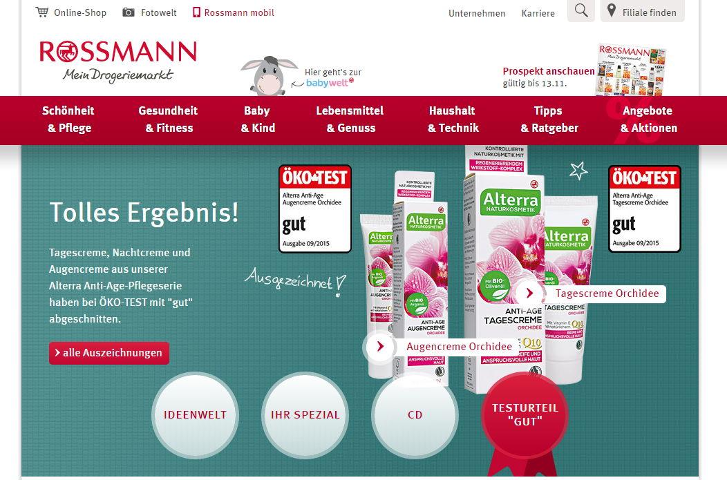 rossmann drogerien parf merien in deutschland tittmoning einkaufen in deutschland. Black Bedroom Furniture Sets. Home Design Ideas
