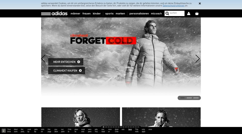 adidas mode bekleidungsgesch fte in deutschland metzingen einkaufen in deutschland. Black Bedroom Furniture Sets. Home Design Ideas