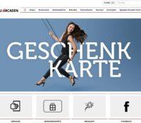 Spandau Arcaden – Einkaufszentrum in Berlin, Deutschland.