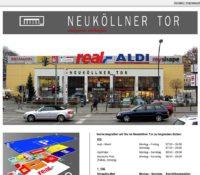 Neuköllner Tor – Einkaufszentrum in Berlin, Deutschland.