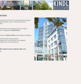 Kindl Boulevard – Einkaufszentrum in Berlin, Deutschland.